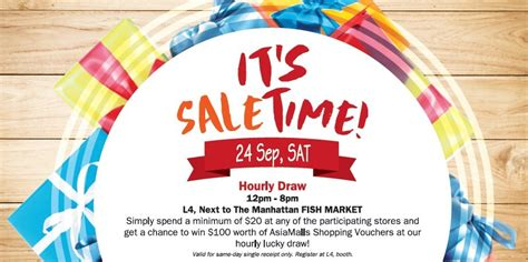 Win 100 Of Vouchers Hippyshopper 2 by Hougang Mall Singapore It S Saletime 20th Anniversary