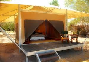 permanent tent cabins eco tents