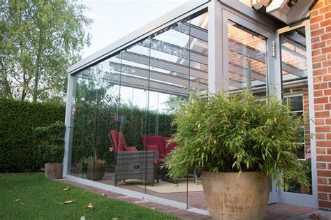 terrasse zu wintergarten umbauen terrassen 220 berdachung flachdach mit glas modern