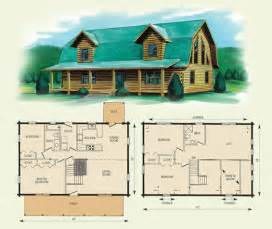 Log Cabin Floor Plans With 2 Bedrooms And Loft by Jefferson Ii
