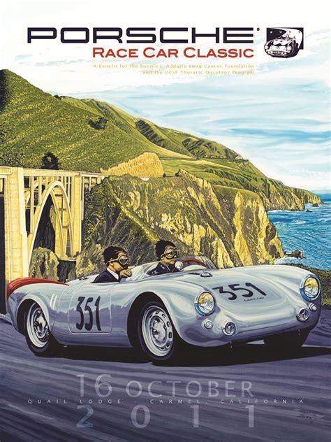 porsche poster automotive posters
