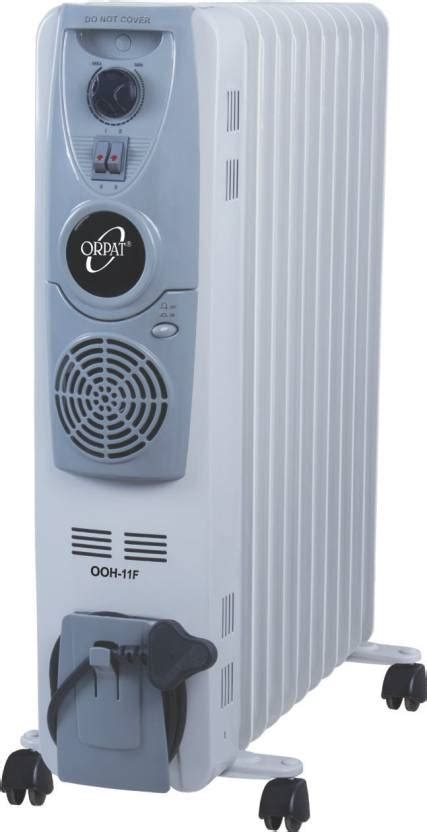 room heaters review orpat ofr ooh 11f with fan filled room heater reviews and ratings