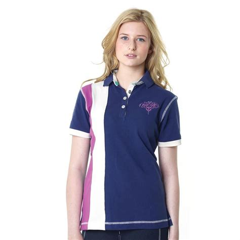 Polo Chelsea C 111 M just togs womens chelsea polo shirt sleeve equestrian clothing ebay