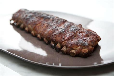 Rack Of Ribs Marinade by Bourbon Pork Ribs Marinade Recipe