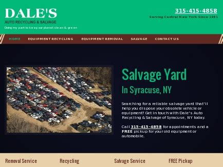 boat salvage yards syracuse ny dale s auto recycling salvage salvage yard syracuse