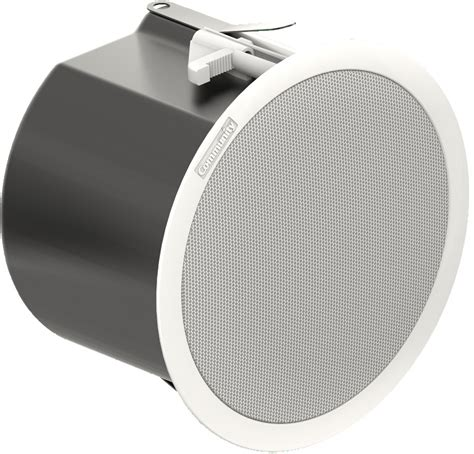 commercial ceiling speakers community c6 commercial series 6 5 2 way 60 watt ceiling