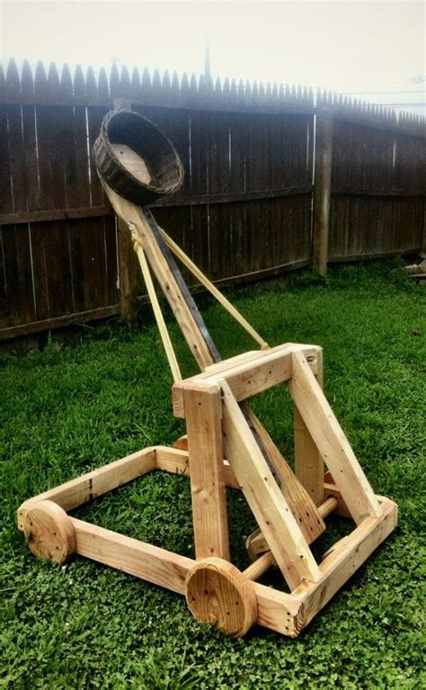 backyard trebuchet how to build a water balloon catapult woodworking
