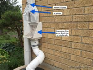 Backyard Irrigation System Catch More Water For Irrigation By Connecting Rain Barrels