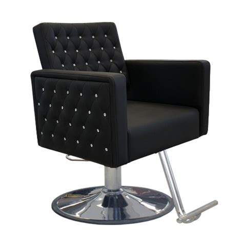 Styling Chair by Deco Crystalli Styling Chair Black