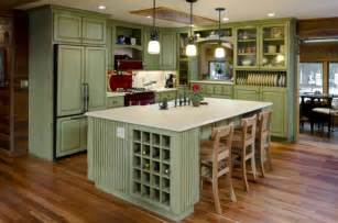 Green kitchens green is a great color that provides a