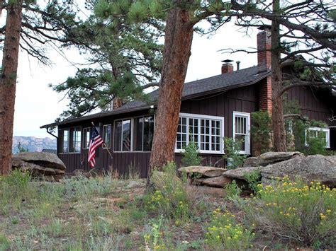 classic estes park cabin to rocky vrbo