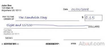 How to write a check 6 steps with pictures wikihow
