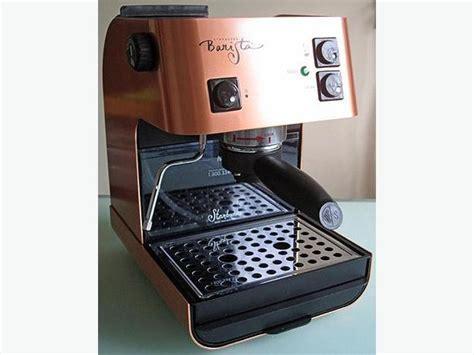 starbucks saeco barista espresso machine saeco starbucks barista espresso machine in rare brushed