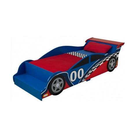 racecar bed kidkraft racecar toddler bed 76040