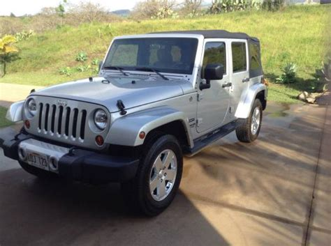 2012 Jeep For Sale 2012 Jeep Wrangler Unlimited Sport For Sale In Kula Hi