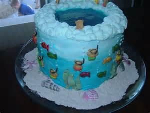 posies ocean cake