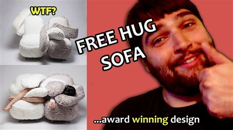 free hug sofa the award winning free hug sofa wtfridays valentines day