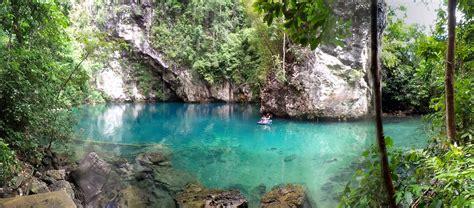 danau biru sebening kaca  sulawesi tenggara sulawesi