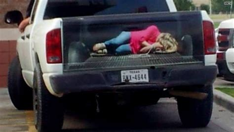 Canadian Home Design Blogs bound woman tailgate creates controversy www news965 com