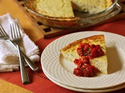baked cottage cheese with roasted grape tomatoes cabot