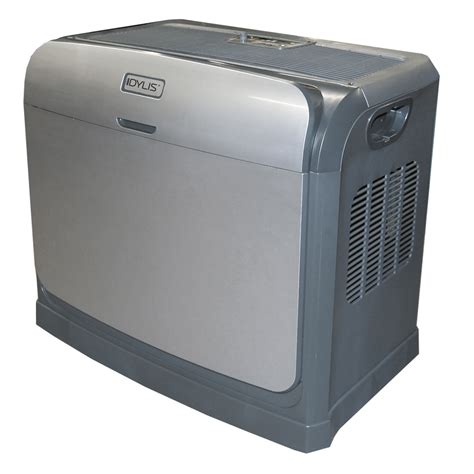 shop idylis 4 gallon console evaporative humidifier at lowes com