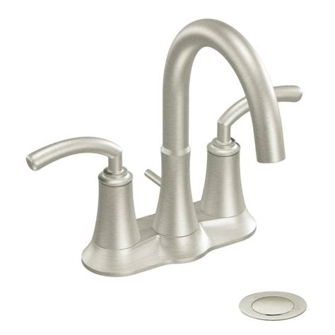 s6510bn moen premium icon series two handle brushed nickel