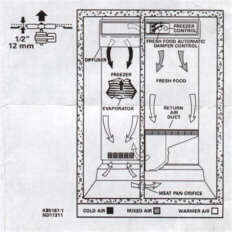 ge profile refrigerator fan not working maytag by not