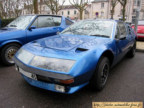 renault alpine a310 renault alpine a310 technical details history photos on