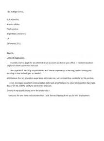 accountant application letter sle