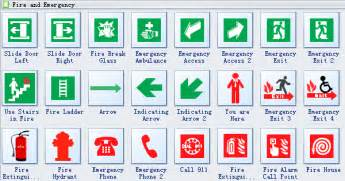 in of emergency glass template image gallery evacuation symbols