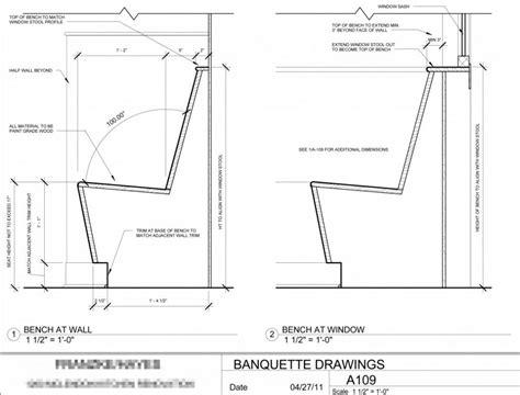 booth design dimensions large image for excellent restaurant banquette dimension