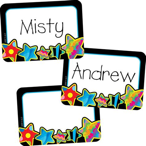 pattern for name tags poppin patterns stars name tags