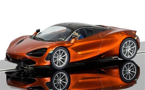 orange mclaren 720s scalextric c3895 mclaren 720s azores orange new