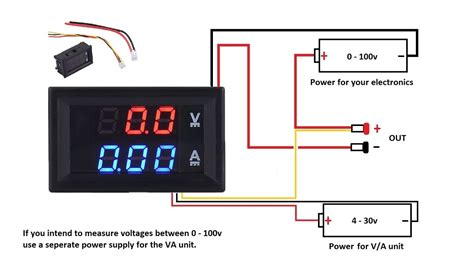 volt meter wiring diagram 29 wiring diagram images
