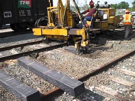 Composite Sleepers by Ecotrax Composite Railway Sleepers
