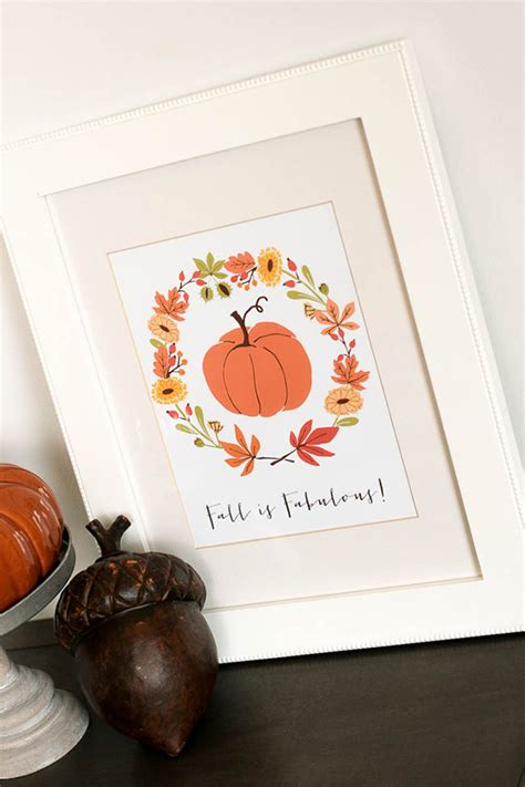 printable fall decorations 25 free fall decor printables the cow country