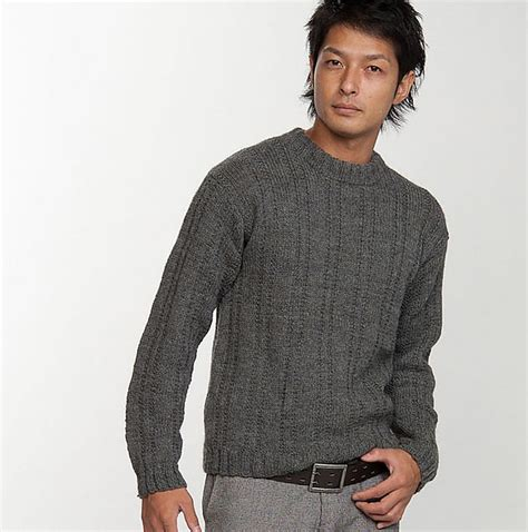 mens sweater knitting pattern free pattern hans