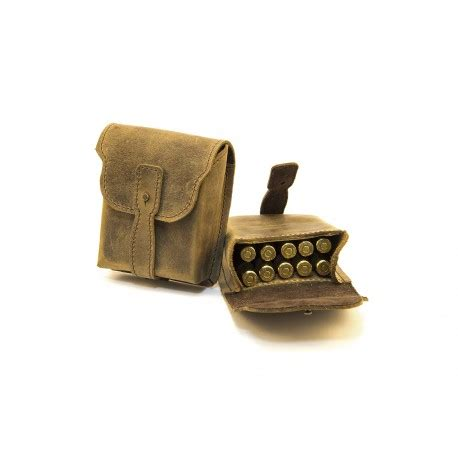 Pouch Handmade - handmade leather ammo poauch
