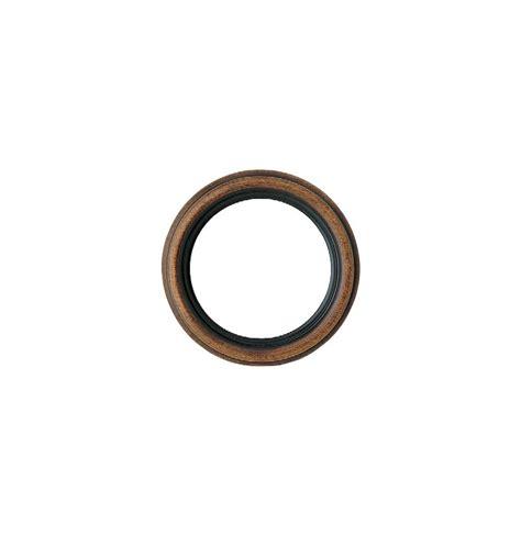 cornice rotonda cornice rotonda in legno noce da 100 cm