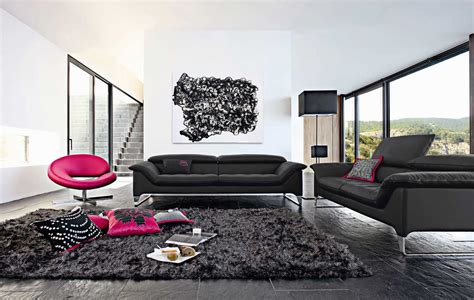Living Rooms With Black Sofas Living Room Inspiration 120 Modern Sofas By Roche Bobois Part 2 3 Architecture Design