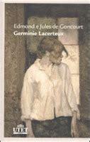 libro germinie lacerteux la stamberga dei lettori