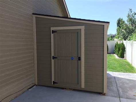 storage shed lean   single slope roof stor mor sheds