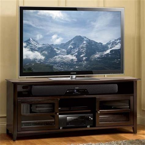 65 inch tv cabinet bello no tools assembly 65 inch wood tv cabinet dark