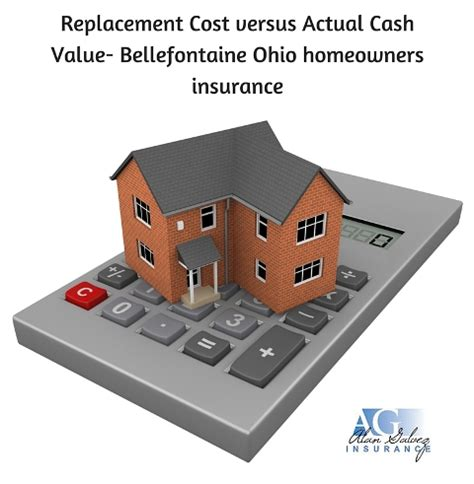 replacement cost versus actual value bellefontaine