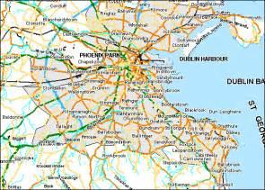 map of dublin dublin map region city map of ireland city regional