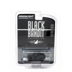 Diecast Ford Bronco 1970 Skala 64 Black Bandit By Greenlight incoming search diecast band diecast scale model cars