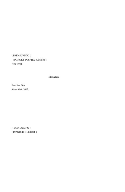 contoh surat izin orang tua osis contoh surat materi