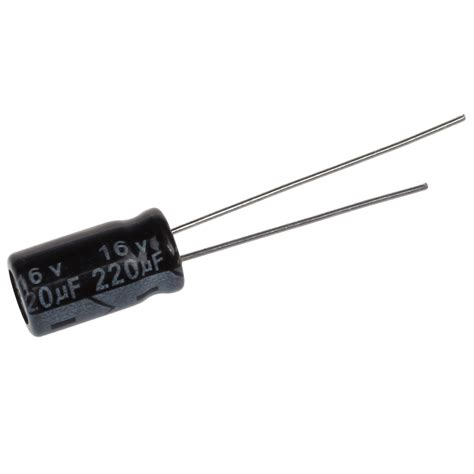 capacitor 220uf 16v ss 50 pcs 220uf 16v aluminum electrolytic capacitor radial 12 5 x 6mm s