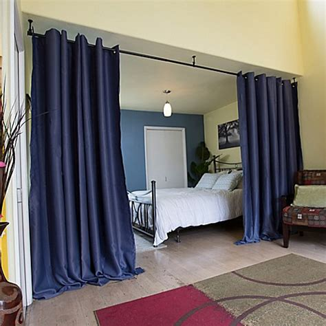 curtain hanging screen room divider roomdividersnow hanging room divider kit a with 8 foot