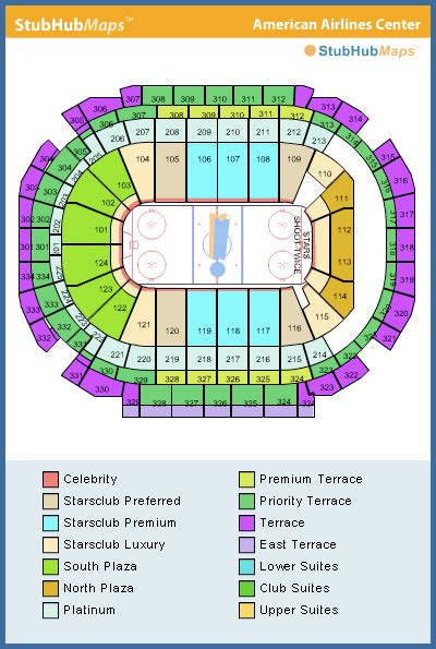 american airlines center seating chart rows american airlines center seating chart pictures